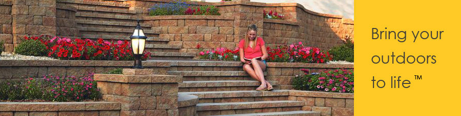 st louis paver patio wall